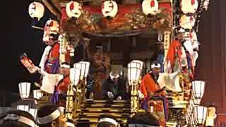 2018年12月03日2枠目 埼玉県秩父市 秩父夜祭の深夜を見てみたい