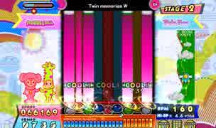 [ポップン]Lv41 Twin memories W EX(譜面