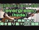 【コード譜あり】「evergreen」サビだけ弾き語り【演奏動画】