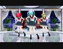 【らぶ式モデル】ミク・テト・グミちゃんたちで「ダメよ!」【MMD】カバーver 1080p