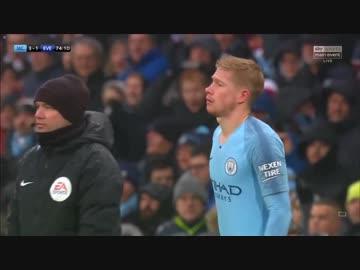 "De Bleyne Return ""18-19EPL: Verse 17"" Manchester City vs Everton"