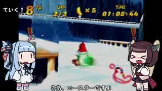 ディディーコングレーシング縛りプレイ2-1【VOICEROID実況】