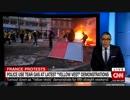 乱射テロ犯射殺で自粛から一転しパリでのデモを呼び掛けるも雨と寒さで参加者半減