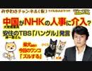 安住紳一郎さんのTBS「ハングル」発言と中国がNHKの人事に介入疑惑 みやわきチャンネル(仮)#305