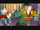 【MMD一血卍傑】ヨリトモとウシワカマル兄弟でおこちゃま戦争