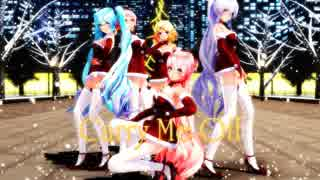 【MMD】Carry Me Off【クリスマスLIVE!】