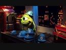 """【東京ディズニーランド】モンスターズインク""""ライド&ゴーシーク!""""(乗り撮り)に乗るあい❤トゥモローランド お出かけ Tokyo Disneyland"""