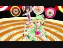 【MMD】キズナアイちゃんと虹河ラキちゃんにいえないやを踊ってもらいました