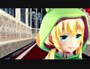 【MMD】二人の虹河ラキちゃんで『ドーナツホール』
