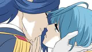 【腐向けメギド】執事姫でキス唾【手描き】