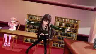 【アイドル部MMD】生徒会室でこっちむいて