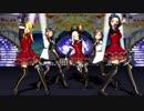 【MMDアイマス】メグメグ☆ファイアーエンドレスナイト 765プロ