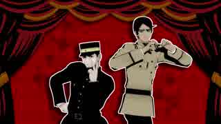 【金カムMMD】ダンスダンスデカダンス【少尉軍曹】