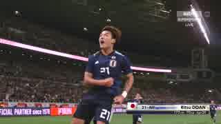 日本vsウルグアイ 親善試合