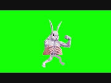 歩く月餅☆の序盤あたりに出てくるウサギ.GB