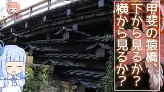 琴葉姉妹のバイクでおでかけVol.5_前編 『甲斐の猿橋、下から見るか?横から見るか?』
