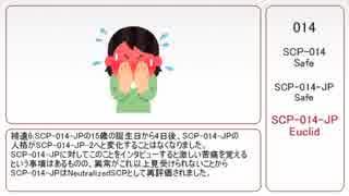 【ゆっくり】014【ナンバーでSCP紹介】