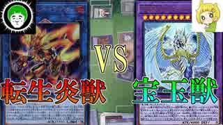 【遊戯王】サラマングレイトVS宝玉獣【愛の戦士VSとりっぴぃ】