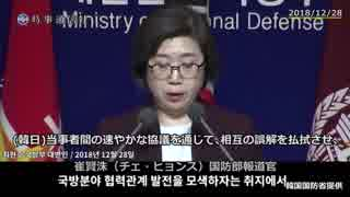 【日本語字幕付き】韓国が自衛隊哨戒機レーダー照射問題に動画で反論
