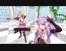 ナルメアお姉ちゃんとジータ団長が「おどりゃんせ」を踊ってくれたよ