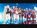 【MMD】シロちゃんとアイドル部でTell Your World【.LIVE】