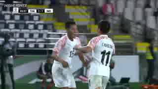 アジアカップ2019 グループA グループリーグ第1試合 インド×タイ