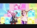【アイドル部MMD】カルロ・ピノと北上双葉で「ビバハピ」