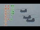 【陸上自衛隊】 第1ヘリコプター団、平成31年 年頭編隊飛行訓練[桜H31/1/12]