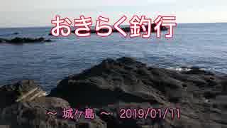 【城ヶ島】 おきらく釣行 【20190111前】