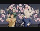 【金カムMMD】猿マネ椅子盗りゲーム【鶴・月・鯉・宇】