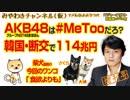AKB48グループは#MeTooだろ?韓国・断交で114兆円|みやわきチャンネル(仮)#332