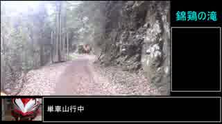 【RTA】錦鶏の滝攻略【リアル滝アタック】