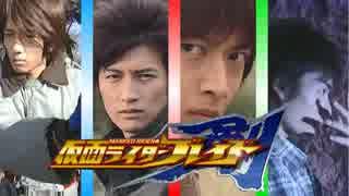 【15周年記念メドレー】 Masked Rider BLA