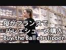 【4K】母がフランスでバレエシューズを購入するよ!repetto 4K映像 4K放送 バレエダンス