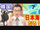 韓国が「日本海の呼称を変えろ!」とIHOに猛抗議!レーダー照射の次もまた海か…
