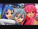 ほのぼのなごむ te-yut-te 五月雨 レッドチューリップ 清霜 1080p 【MMD艦これ】 【MMD花騎士】 【MMD】 【MikuMikuDance】 Ray-mmd