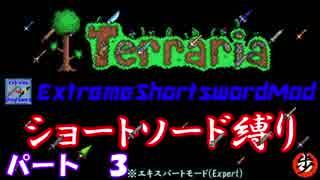 [Terraria+MOD] ショートソード縛りEX パート3 [ゆっくり実況]