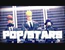 【MMDワンピ】1・4・16でPOP/STARS【軍服・1080p】