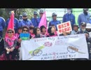 "【 Amazing 】 ""Stop illegal construction!"" Korean woman of peace Omoni Association in Henoko rampage, it is eliminated by mobile troops..."