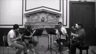 坂本龍一の「アジエンス」をクラリネットアンサンブルで演奏してみた