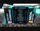 [低画質] 全豪オープンテニス2019 男子シングルス決勝 ラファ...