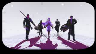【MMD刀剣乱舞】Hysteric Bullet【大きい伊達組&黒田組】