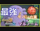【ポケモンUSUM】イバンのみマルノームがめちゃめちゃお仕事してくれる