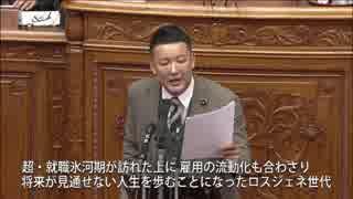 【字幕入り】 2019年2月1日 参議院本会議 山本太郎代表質問