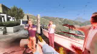 【PC版GTA5】ムービーが一人称視点になるM