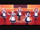 【MMD艦これ】白露型メイド姉妹でチャンバラジョニー