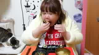 【デブエット】韓国のキンパ&スペアリブと大根のうま煮を食べる!