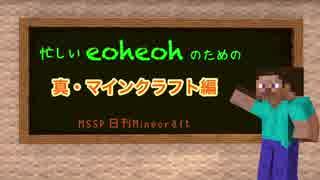 【MSSP】忙しいeoheohのための日刊Minecra