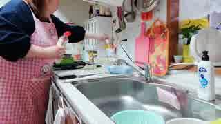 ニートデブの日常と小松菜と厚揚げの煮物&簡単ハンバーグを作る!☺️