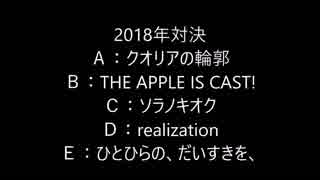 【50曲・フルHD(1080p)】年別対決!!テンションあがるエロゲソングサビメドレー